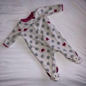 Other - Baby girl footie pajamas